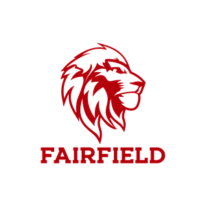 Lion Head - Red PNG