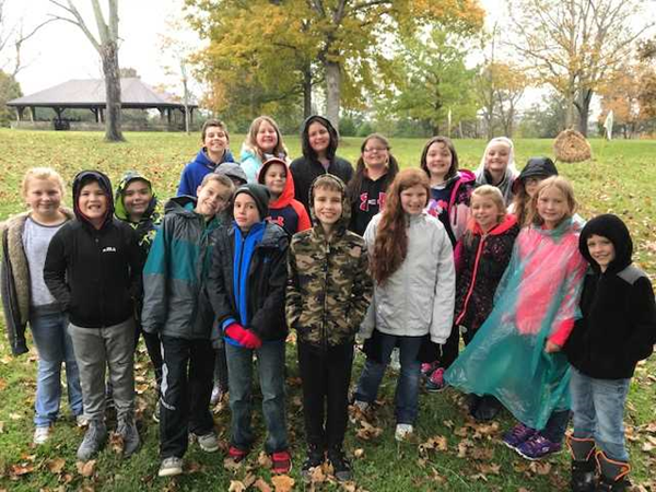 FALL 2018 4TH GRADE TRIP TO SERPENT MOUND